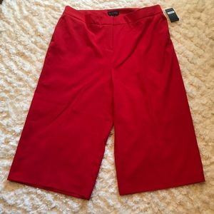 Eloquii Cam cropped wide leg pants Sz 20 NWT